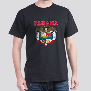 Panama Coat Of Arms Designs Dark T-Shirt